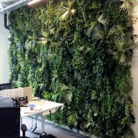 plantenwand_kunstplanten_kantoor